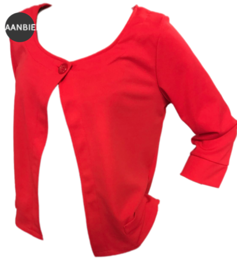 Ronde prijzen : Punto rood vestje