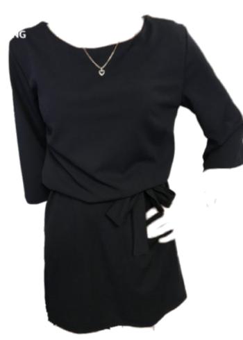 Punto Rimini kleedje Black