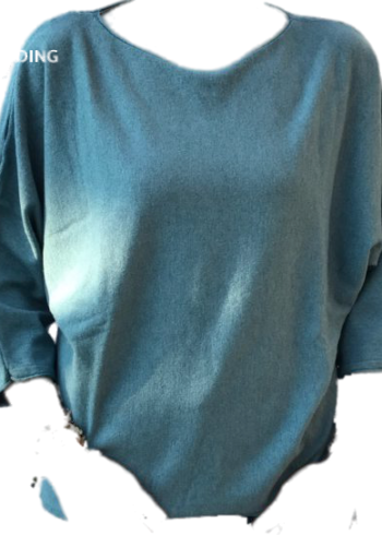 H20 Italia pull : Milena Turquoise