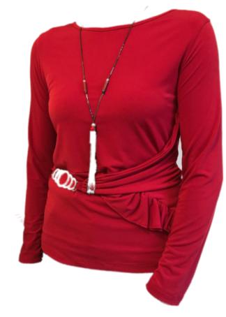 Everis Bloes Camisa Rood