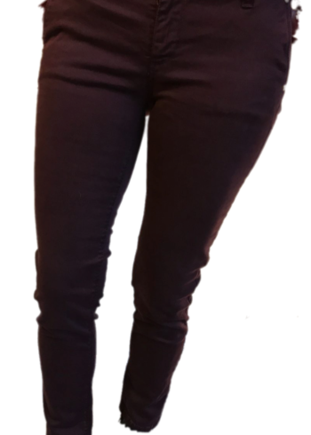 H20 Italia jeansbroek Rebecca aubergine