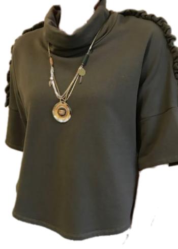 H20 Italia Sweater : Rosita Khaki