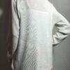One Cardigan Windsor Long White  geweven