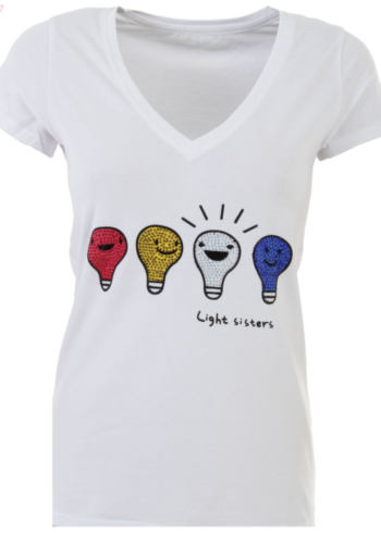 "K-Design T-Shirt ""Light sisters "" L257"