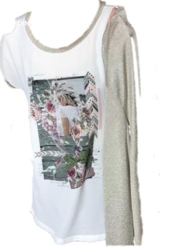 Batida T-Shirt 7172 met print
