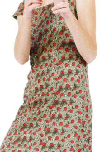 Enolah jurk Bari Daisy , kleur Poppy