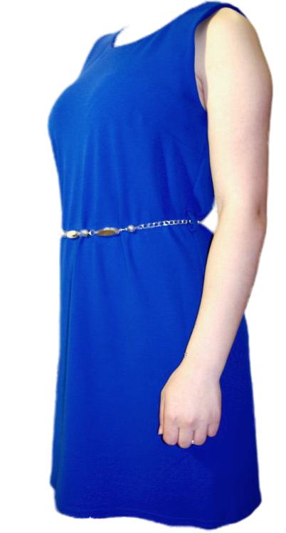 Everis jurk Marilu Koningsblauw