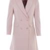 K-Design jurk M605 Vieux rose blazer look