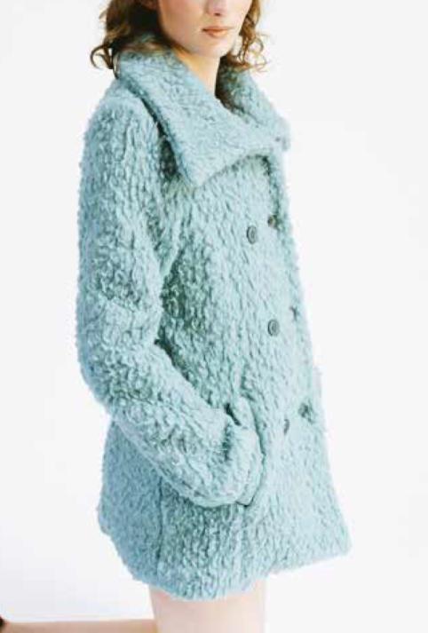 Enolah Teddy mantel Lido Horizon Aqua