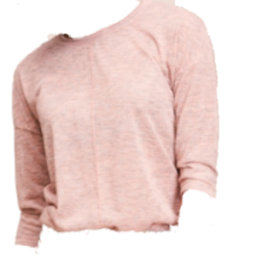 CKS T-Shirt met lange mouwen Marcelie , Nude