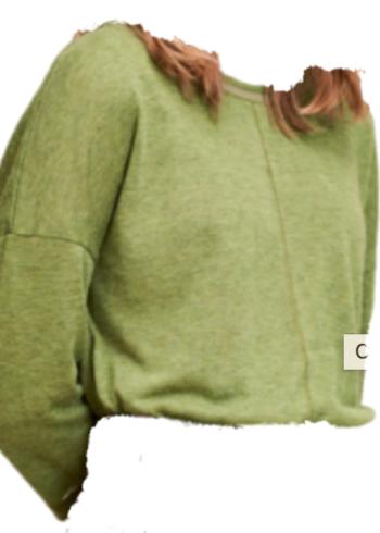 CKS T-Shirt met lange mouwen Marcelie , groen