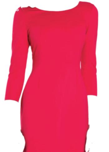 Zaps jurk Amanda 002 Rood