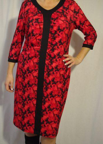 Verpass jurk 6005 Rood
