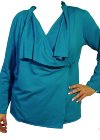 Enolah Cardigan Forio Fleece Blue
