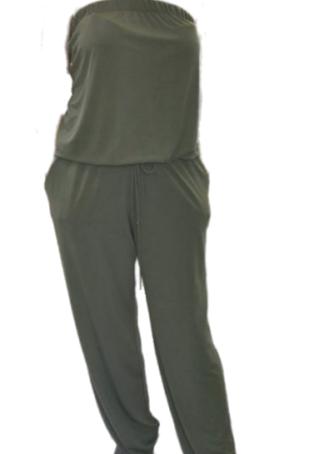 K-Design jumpsuit N901 Khaki