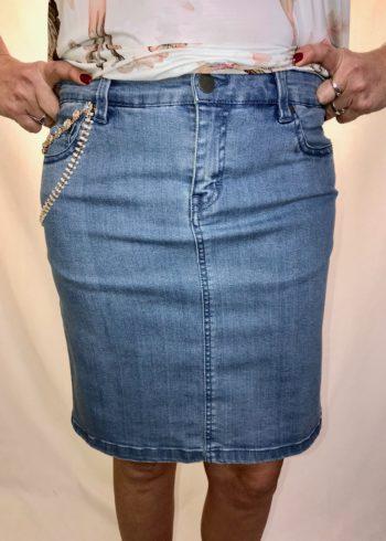 Malvin jeansrok 4875