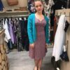 Enolah jurk Lesbos blue