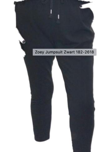 Zoey Jumpsuit Zwart 182-2618