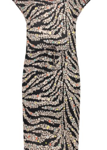 Cks jurk Nemia , zebra black