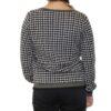 K-Design Pullover  O502 Black ,Pied de poule