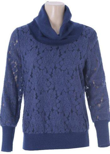 K-Design Pullover O605 Indigo