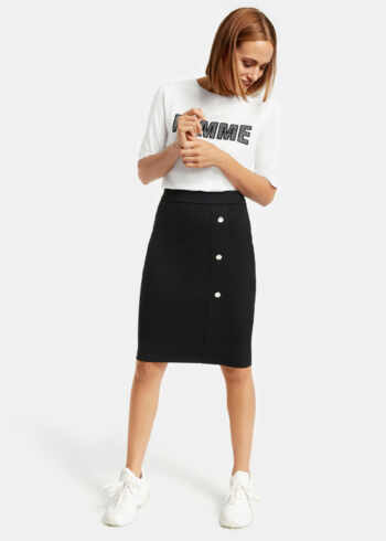 Taifun Skirt 411001 / 16701 Black