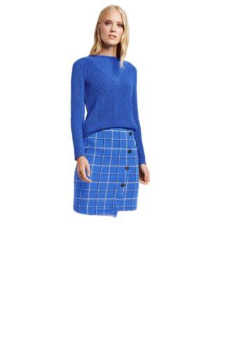 Taifun Skirt 411014 / 16624 Cobalt Blue