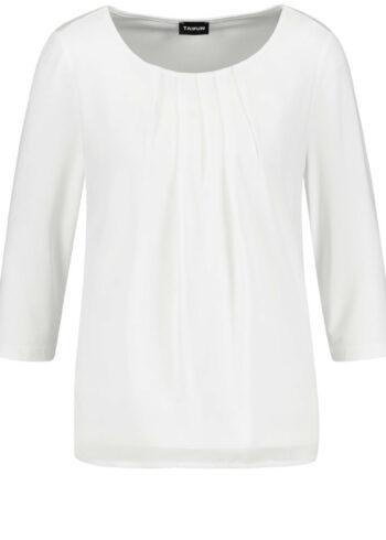 Taifun T-shirt/Blouse 471060 / 19676 Offwhite