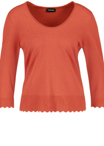 Taifun Pullover 472011 / 15330 Spicy Red
