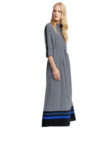 Taifun Maxi Dress 480009 / 11273 Cobalt blue