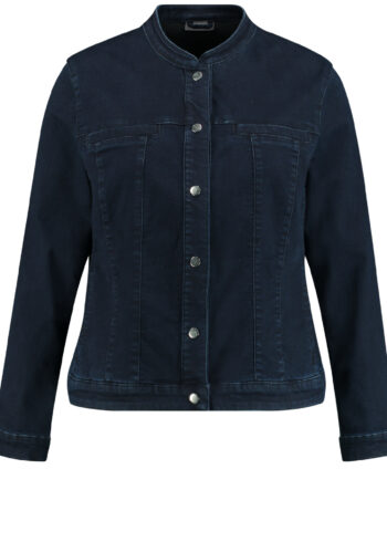 Samoon Jacket 330006 / 21315 Raw Blue Denim