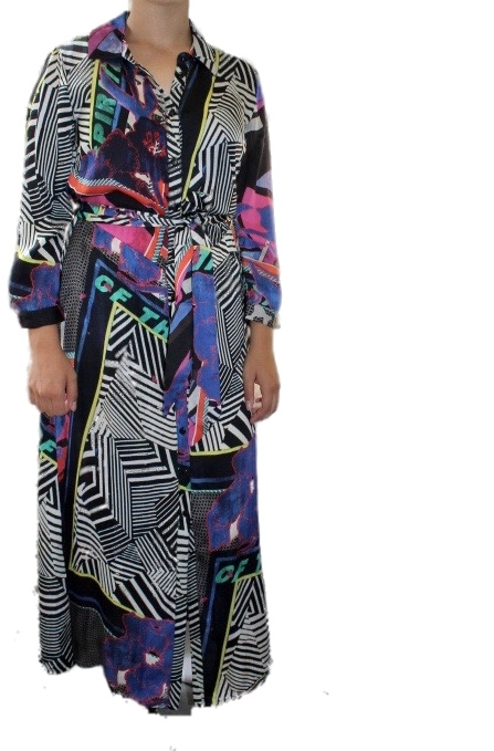 Malvin Long  Dress 3302 Multi