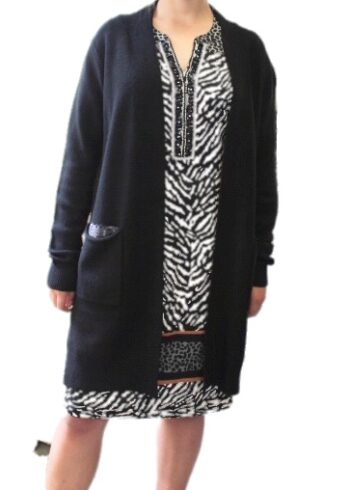 Malvin Cardigan 2866 Black