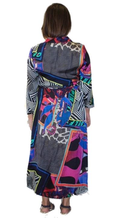 Open End Dress 33021 Multi