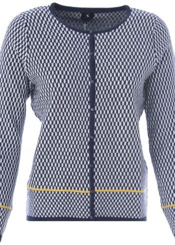 K-Design Cardigan lange mouwen Q500 Navy