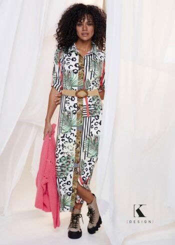 K-Design Maxi Dress Q887 P834
