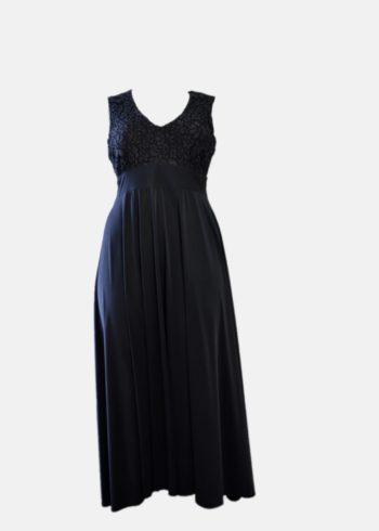 Sophia Dress , Albo bustino lungo Blue notte