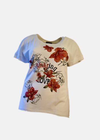 Donna Gi Shirt D05/2696 Wit / Cipolla