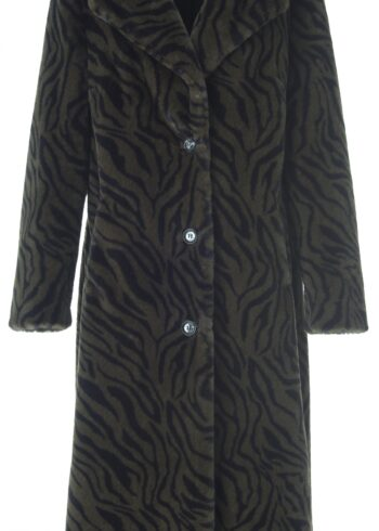 K-Design R400 Long Jacket Zebra Khaki - black