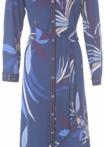 K-Design Maxi Dress R700 P956 blauw