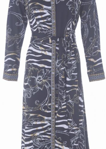 K-Design Maxi Dress R703 P957 Black