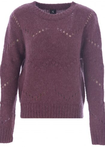 K-Design Pullover R500 Wine berry