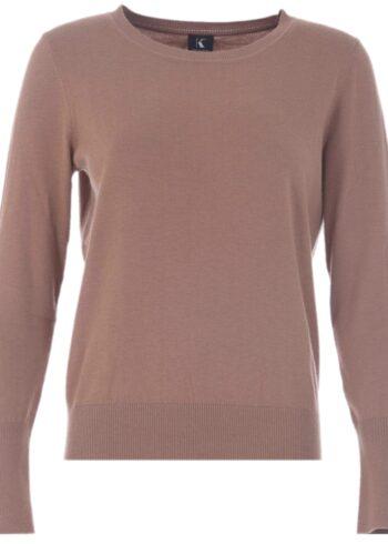 K-Design Pullover R512 camel