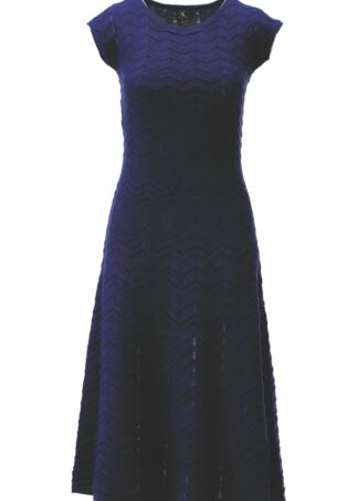 K-Design Dress S552 Evening Blue