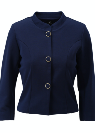K-Design jasje lange mouwen S415 Evening Blue