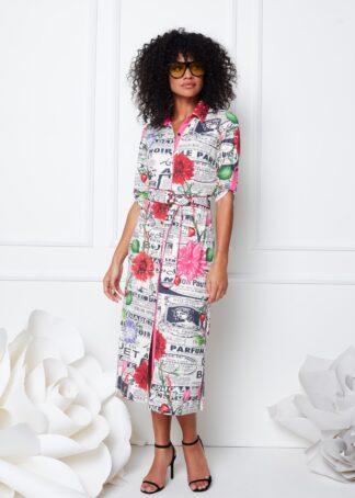 K-Design Midi Dress S827 P155